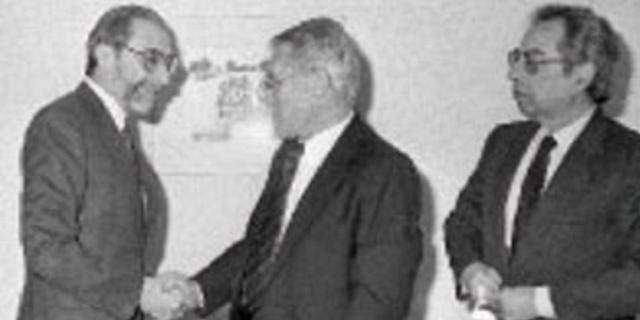Génesis y evolución de las relaciones diplomáticas España – Israel, con Juan Antonio Yáñez-Barnuevo y Shlomo Ben Ami (Centro Sefarad – Israel, Madrid, 17/2/2016)