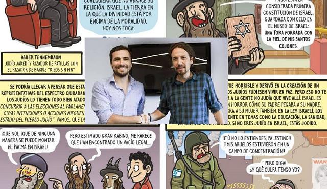 Las viñetas de El Jueves refuerzan prejuicios judeófobos milenarios, con Xavier Torrens
