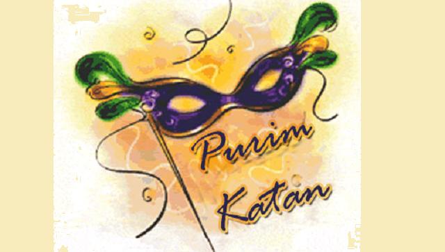 ¿Qué es Purim Katán?