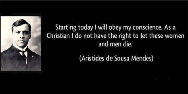 Aristides de Sousa Mendes: Portuguese Righteous Among the Nations