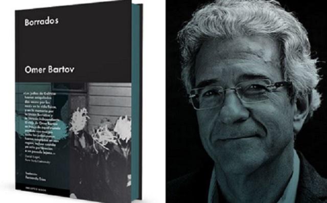 """""""Borrados"""" de Omer Bartov, con su editor Jordi Carrión"""
