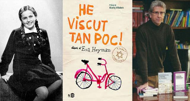 """El editor Alfredo Landman presenta """"El diario de Eva Heyman: ¡He vivido tan poco!"""""""