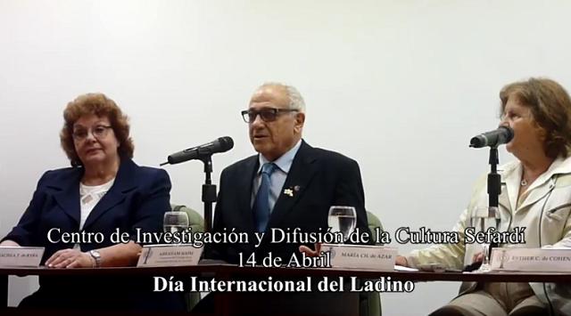 El III Día Internacional del Ladino en Buenos Aires (14/4/2016)
