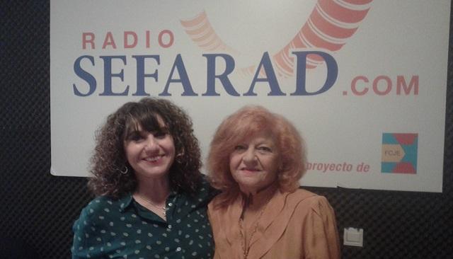 """30 años de """"Emisión Sefarad"""" en Radio Exterior de España, con Matilde Gini de Barnatán y Viviana Rajel"""