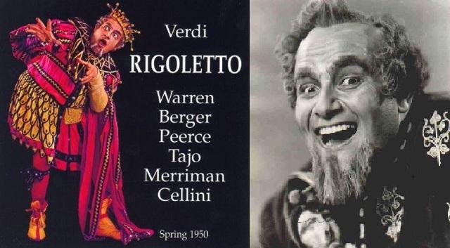 """Rigoletto"" de Verdi, con Leonard Warren"