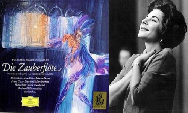 """La flauta mágica"" de Mozart, con Evelyn Lear"