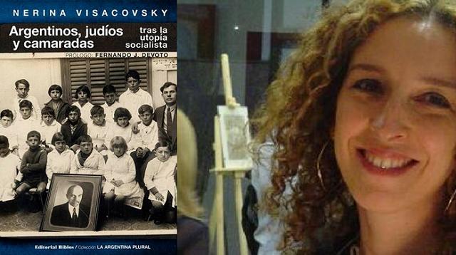 """Presentación de  """"Argentinos, judíos y camaradas tras la utopía socialista"""" de Nerina Visacovsky (Centro Sefarad – Israel, Madrid, 28/4/2016)"""