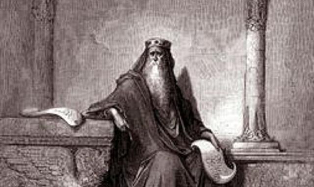 Salmo 72: oración del rey David para que su hijo Salomón sea un rey ideal