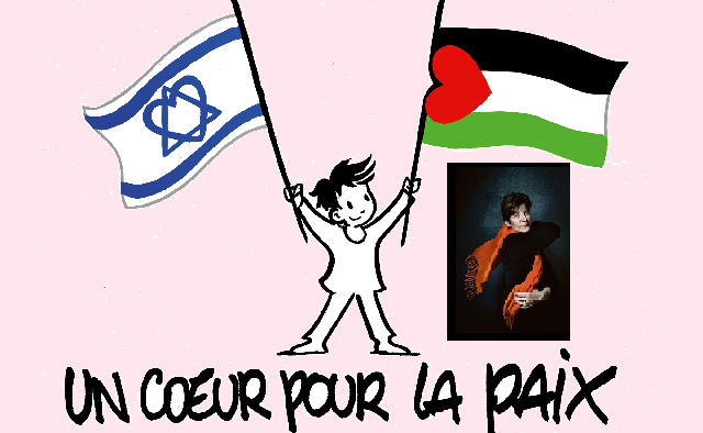 L'association « Un Coeur pour la Paix », avec sa fondatrice Muriel Haïm