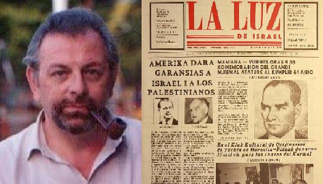 El periodista David Elnecavé, en judeoespañol, desde el CIDICSEF de Buenos Aires