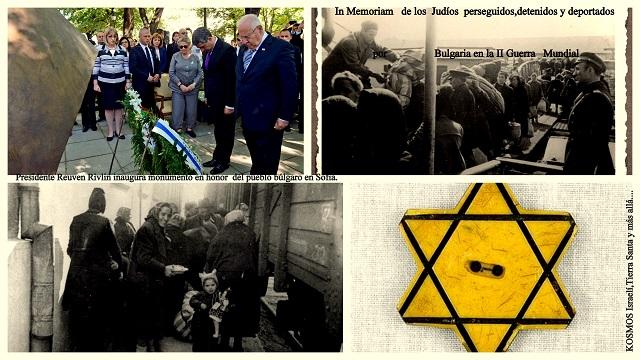 En memoria de los sefardíes enviados a la muerte por Bulgaria en la II Guerra Mundial