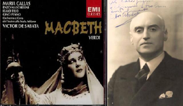 """""""Macbeth"""" de Verdi, dirigida por Victor de Sabata"""