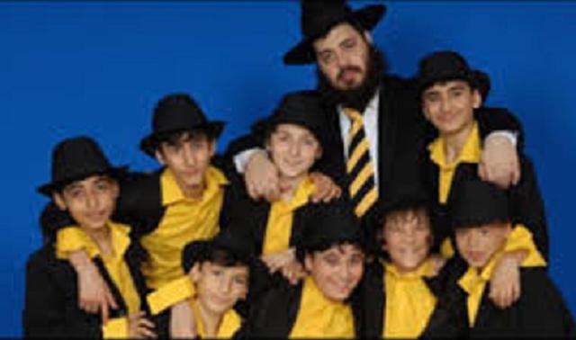 Meir Brook y el coro infantil judío de Azerbaiyán