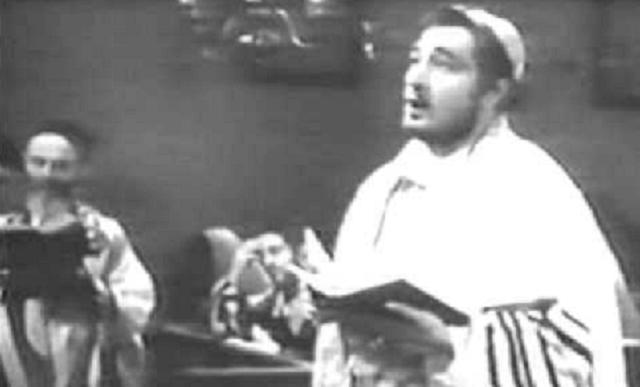 Moishe Oysher: la liturgia al escenario