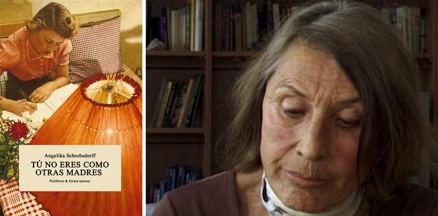 """""""Tú no eres como otras madres"""" de Angelika Schrobsdorff , con su editora Paca Flores"""