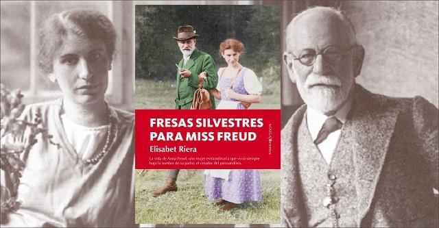 """""""Fresas silvestres para miss Freud"""", con su autora Elisabet Riera"""