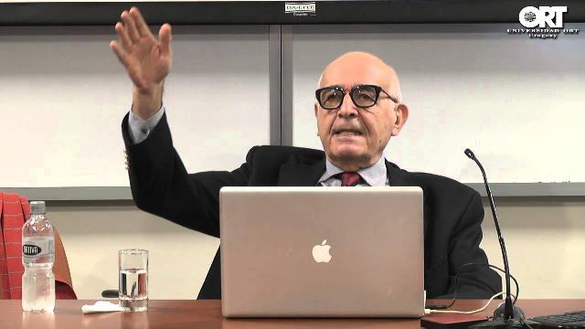 """""""Discrepancias ideológicas en la historia del sionismo político"""", con Oded Balaban (Universidad ORT, Uruguay, 28/10/2013)"""