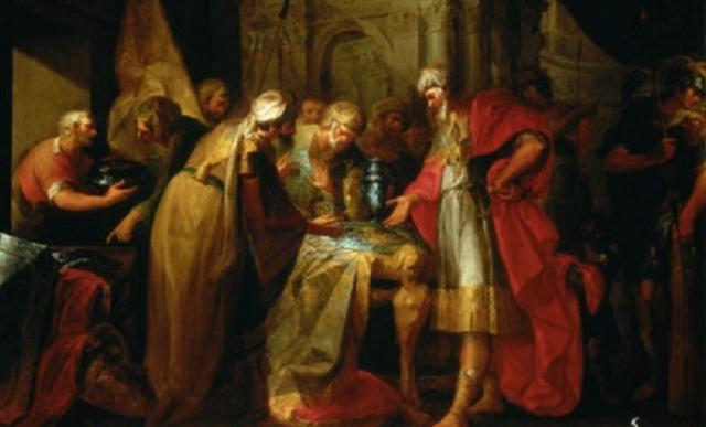 El rey y su profeta