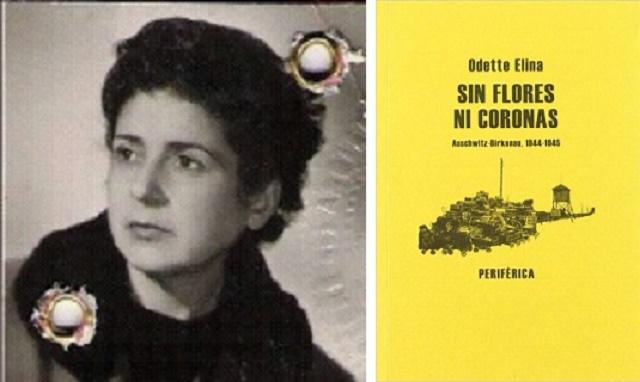 """Odette Elina, noviembre de 1944 en su """"Sin Flores ni coronas"""""""