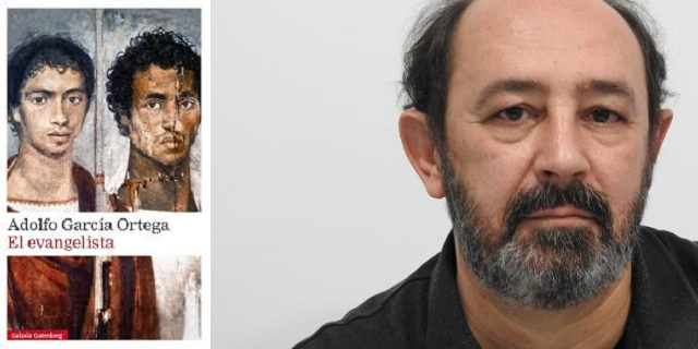 """""""El evangelista"""", con su autor Adolfo García Ortega"""