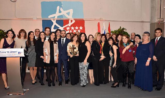 Ceremonia de entrega del premio Or Janucá 2016 al Centro Ibn Gabirol – Colegio Estrella Toledano (17/12/2016)