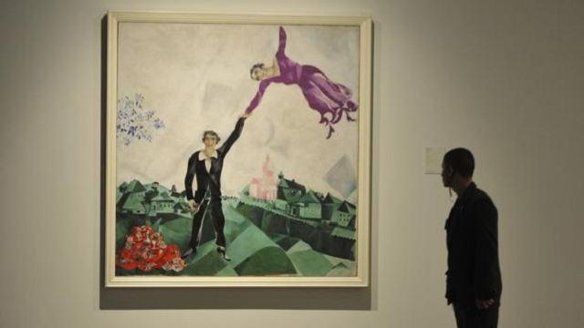 Hasta siempre Chagall en el Museo Ruso de Málaga, con Mario Virgilio Montañez