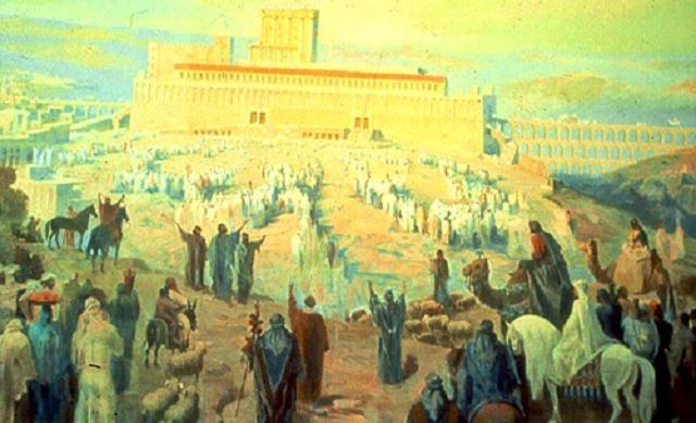 Salmo 84: cantando por el pueblo de Israel diariamente al atardecer