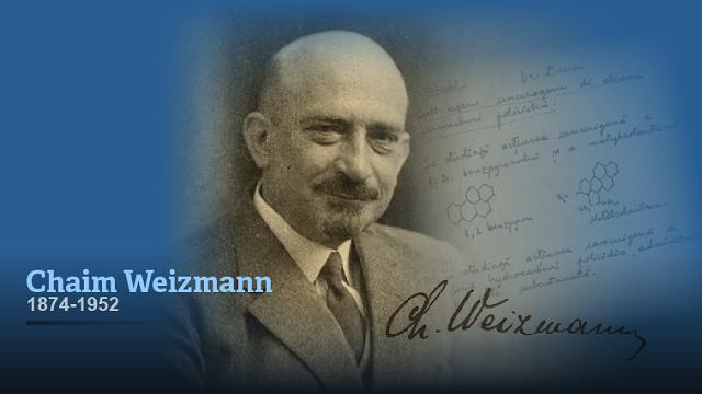 Chaim Weizmann (1ª parte): la química de la liberación nacional judía