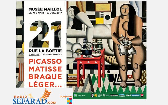 """""""21, Rue de la Boetie"""": la exposición sobre la galería de arte del abuelo de Anne Sinclaire"""