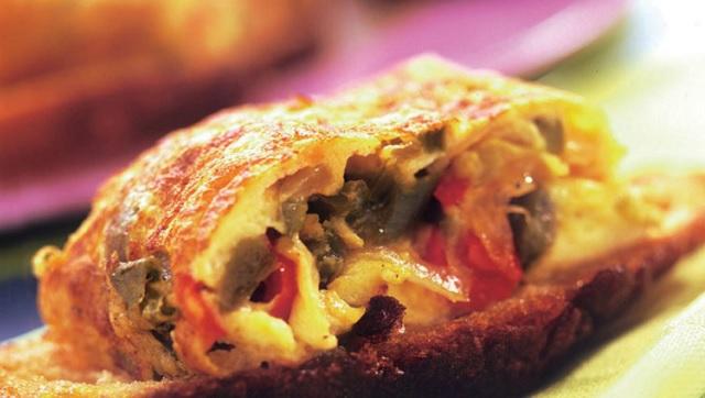 Al rico aceite de oliva: tortilla española confitada y pescado sefardí con naranja