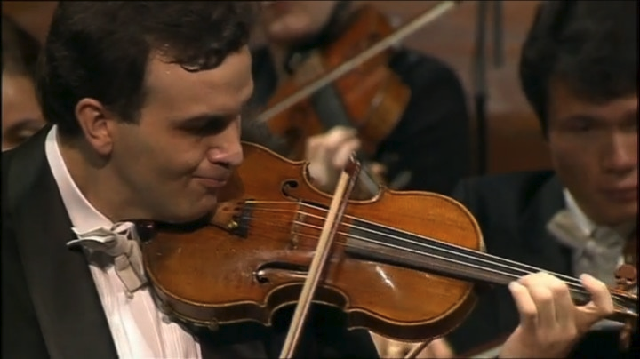 Primer Concierto de Bruch, con el violinista Gil Shaham