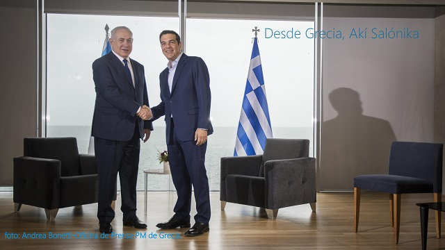 Netanyahu en Salónica y en la cumbre tripartita