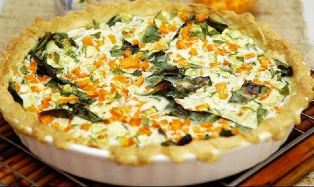 De estación: milanesas vegetales y una quiche de verduras