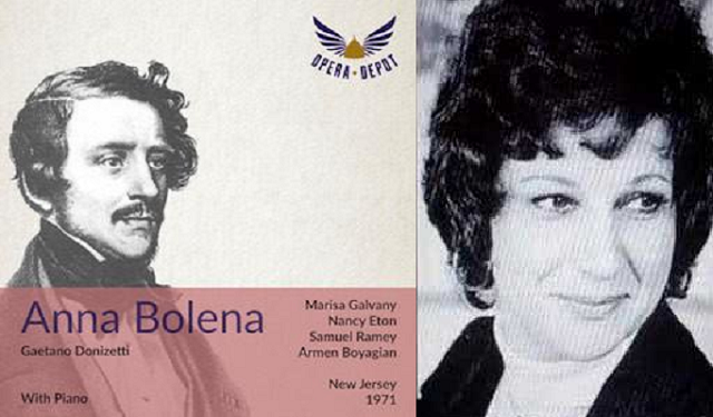 """""""Ana Bolena"""" de Donizetti, con Marisa Galvany"""