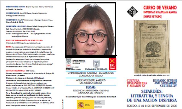 La lengua sefardí en su decadencia, con Dora Mancheva (Toledo, 7/9/2005)