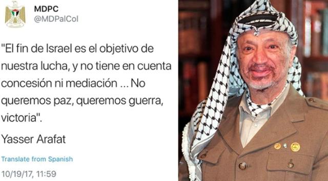 """""""Cuando un pueblo no quiere la paz"""""""