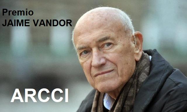 Nace el Premio Jaime Vandor de ARCCI, con Andreu Lascorz