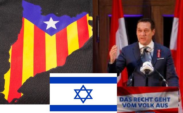 Cataluña y Austria preocupan a Tel-Aviv y Jerusalén