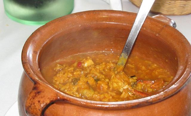 Cazuelas: de arroz y de pescado