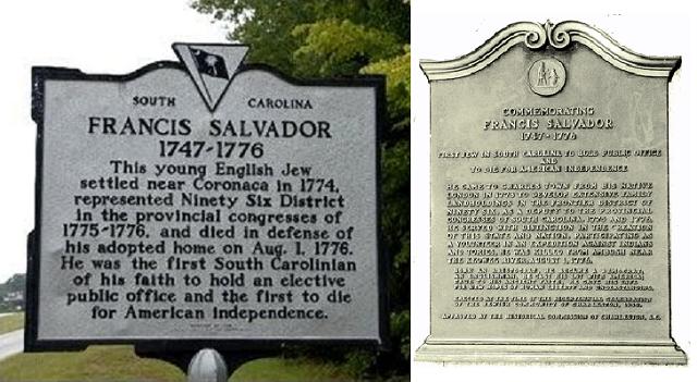 Francis Salvador, héroe estadounidense sefardí, en judeoespañol, desde el CIDICSEF de Buenos Aires