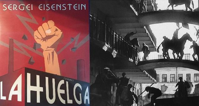"""""""La huelga"""" (1924), de Sergei Einsenstein"""