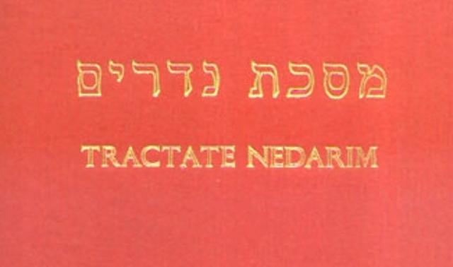 ¿Qué son los Nedarím (votos o promesas)?