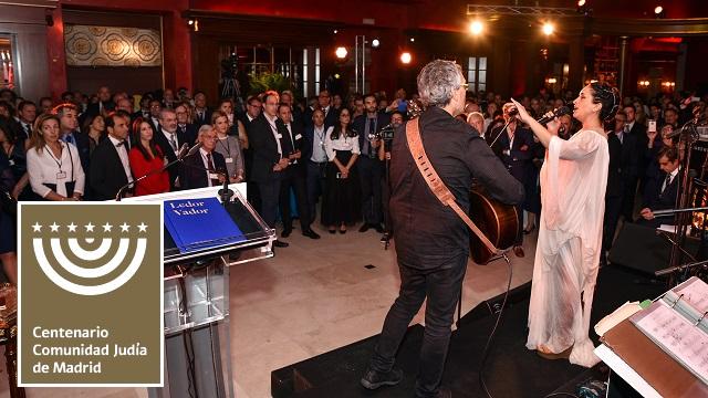 """Fiesta del Centenario de la CJM y entrega del Premio """"Or Janucá 5778"""" (Teatro Real, Madrid, 21/10/2017)"""