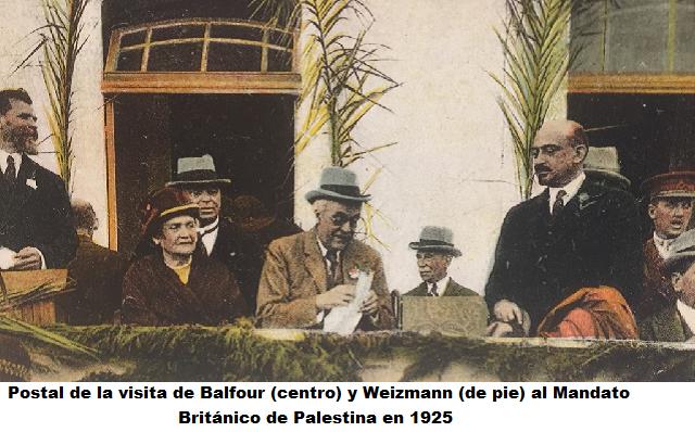La carta que cambió la historia de los judíos: 100 años de la Declaración Balfour