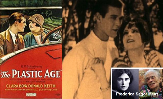 """The Plastic Age"", escrita por Frederica Sagor (1925)"