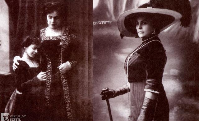 Ester Rojl e Ida Kaminska: una familia teatral