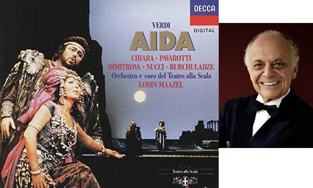 """""""Aída"""" de Verdi, dirigida por Lorin Maazel"""