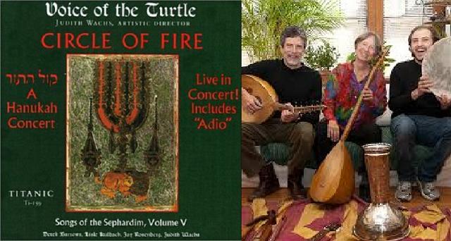 Concierto de Janucá con Voice of the Turtle