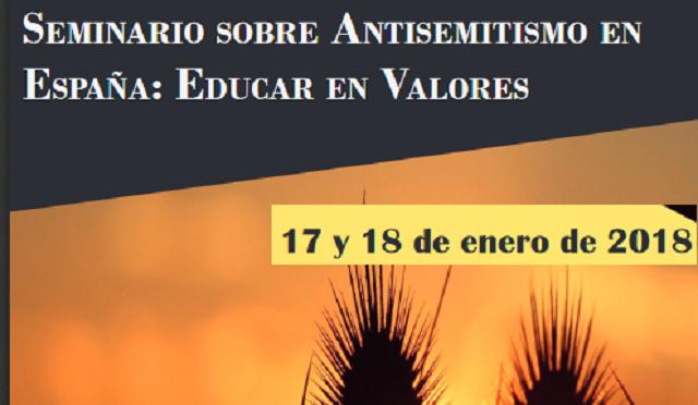 """Cierre del Seminario sobre Antisemitismo """"Educar en valores"""""""