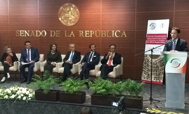 México rinde homenaje a las víctimas del Holocausto